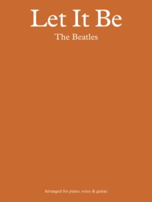 The Beatles : Let it be - Pvg, Paperback Book