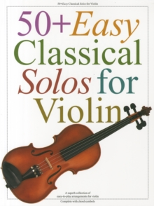 50+ Easy Classical Solos for Violin, Book Book