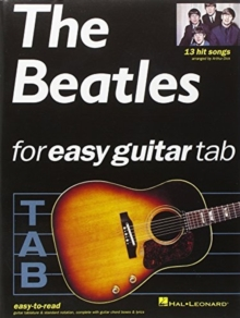 The Beatles For Easy Guitar Tablature, Paperback / softback Book
