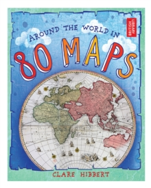 Around the World in 80 Maps, Hardback Book