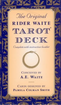 The Original Rider Waite Tarot Deck, Paperback / softback Book