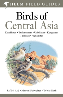 Birds of Central Asia, Paperback Book