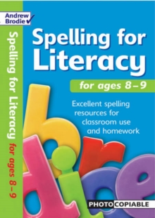 Spelling for Literacy for Ages 8-9, Paperback Book