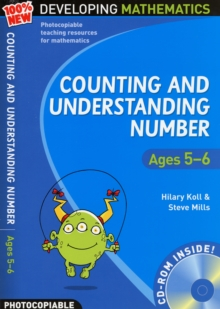 Counting and Understanding Number - Ages 5-6 : 100% New Developing Mathematics Year 1, Mixed media product Book