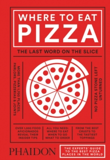 Where to Eat Pizza, Hardback Book