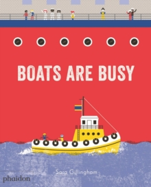 Boats Are Busy, Board book Book
