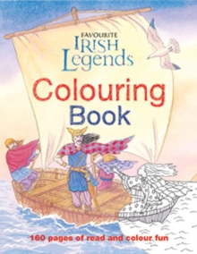 Irish Legends for Children Colouring Book, Paperback Book