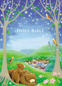 Sparkly Bedtime Holy Bible : International Children's Bible, Hardback Book