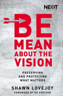 Be Mean About the Vision : Preserving and Protecting What Matters, Paperback / softback Book