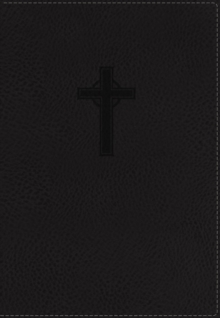 NKJV, Reference Bible, Compact, Large Print, Imitation Leather, Black, Red Letter Edition, Leather / fine binding Book