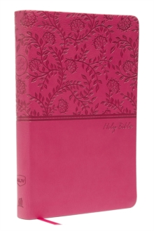 NKJV, Value Thinline Bible, Standard Print, Imitation Leather, Pink, Red Letter Edition, Comfort Print, Leather / fine binding Book
