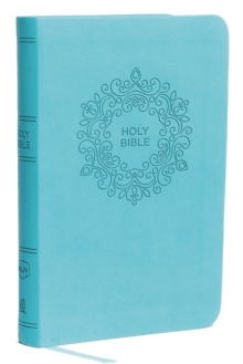 NKJV, Value Thinline Bible, Compact, Imitation Leather, Blue, Red Letter Edition, Comfort Print, Leather / fine binding Book