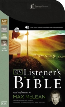 KJV, Listener's Audio Bible, Audio CD : Vocal Performance by Max McLean, CD-Audio Book