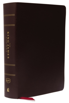 KJV, The King James Study Bible, Bonded Leather, Burgundy, Indexed, Red Letter, Full-Color Edition, Leather / fine binding Book