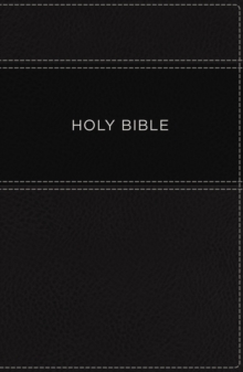 KJV, Apply the Word Study Bible, Large Print, Imitation Leather, Black, Indexed, Red Letter Edition : Live in His Steps, Leather / fine binding Book