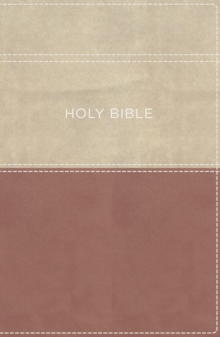 KJV, Apply the Word Study Bible, Large Print, Imitation Leather, Pink/Cream, Red Letter Edition : Live in His Steps, Leather / fine binding Book