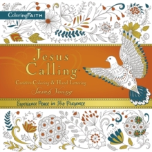 Jesus Calling Adult Coloring Book:  Creative Coloring and   Hand Lettering, Paperback / softback Book