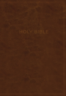 KJV, Know The Word Study Bible, Imitation Leather, Brown, Red Letter Edition : Gain a greater understanding of the Bible book by book, verse by verse, or topic by topic, Leather / fine binding Book
