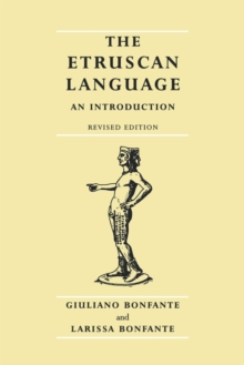 The Etruscan Language : An Introduction, Paperback Book