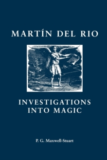 Martin Del Rio : Investigations into Magic, Paperback Book