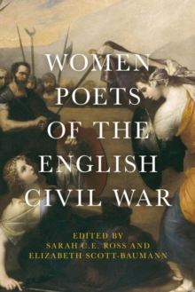 Women Poets of the English Civil War, Hardback Book
