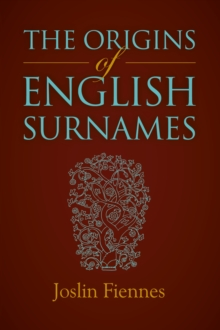 The Origins of English Surnames, Paperback Book