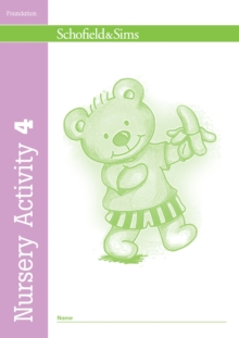 Nursery Activity Book 4, Paperback / softback Book