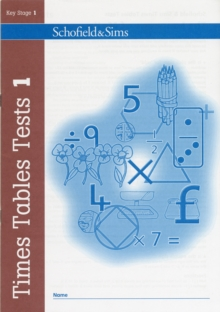 Times Tables Tests Book 1, Paperback Book