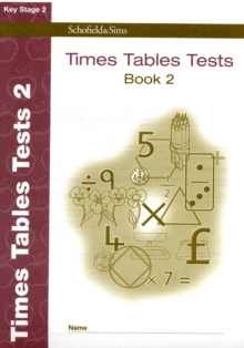 Times Tables Tests Book 2, Paperback / softback Book