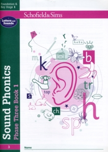 Sound Phonics Phase Three Book 1: EYFS/KS1, Ages 4-6, Paperback / softback Book