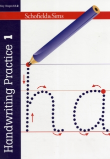 Handwriting Practice Book 1: KS1, Ages 5-7, Paperback / softback Book