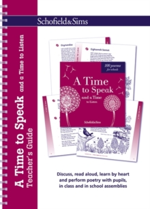 A Time to Speak and a Time to Listen Teacher's Guide, Spiral bound Book
