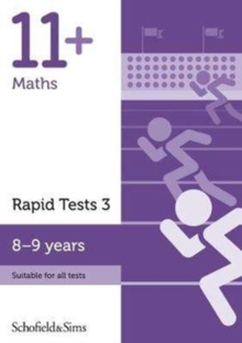 11+ Maths Rapid Tests Book 3: Year 4, Ages 8-9, Paperback / softback Book