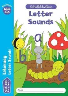 Get Set Literacy: Letter Sounds, Early Years Foundation Stage, Ages 4-5, Paperback / softback Book