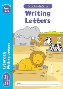 Get Set Literacy: Writing Letters, Early Years Foundation Stage, Ages 4-5, Paperback / softback Book