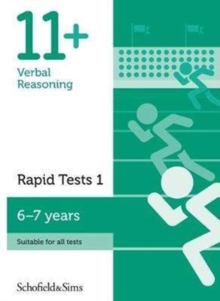 11+ Verbal Reasoning Rapid Tests Book 1: Year 2, Ages 6-7, Paperback Book