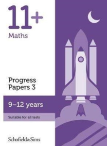 11+ Maths Progress Papers Book 3: KS2, Ages 9-12, Paperback Book