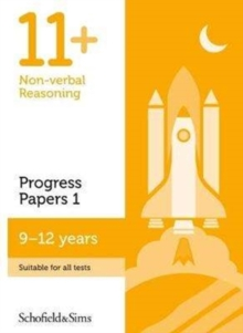 11+ Non-verbal Reasoning Progress Papers Book 1: KS2, Ages 9-12, Paperback Book
