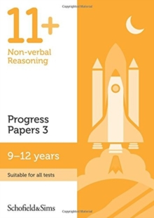 11+ Non-verbal Reasoning Progress Papers Book 3: KS2, Ages 9-12, Paperback Book