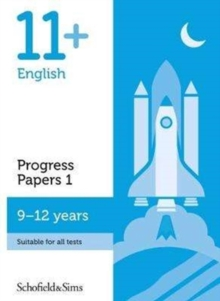11+ English Progress Papers Book 1: KS2, Ages 9-12, Paperback Book