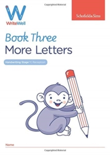 WriteWell 3: More Letters, Early Years Foundation Stage, Ages 4-5, Paperback / softback Book