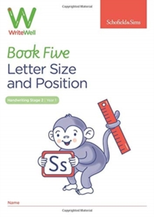 WriteWell 5: Letter Size and Position, Year 1, Ages 5-6, Paperback / softback Book