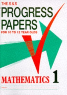 Progress Papers in Mathematics 1, Paperback Book