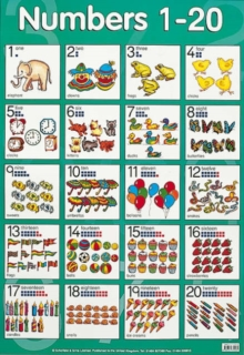Numbers 1 to 20, Poster Book