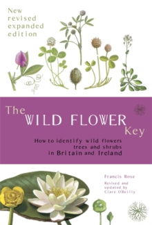 The Wild Flower Key, Paperback Book