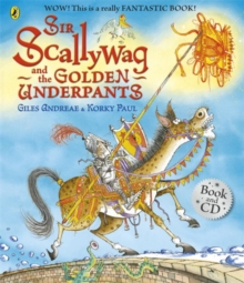 Sir Scallywag and the Golden Underpants Book and CD, Mixed media product Book