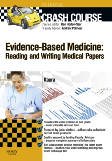 Crash Course Evidence-Based Medicine: Reading and Writing Medical Papers Updated Edition - E-Book, PDF eBook