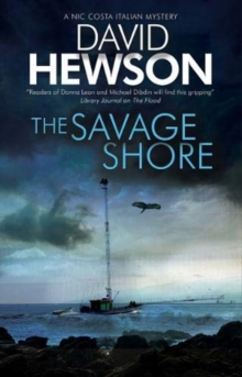 The Savage Shore : An Italian mystery, Hardback Book