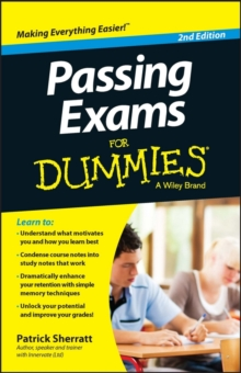 Passing Exams For Dummies, Paperback / softback Book