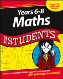 Years 6 - 8 Maths For Students, PDF eBook